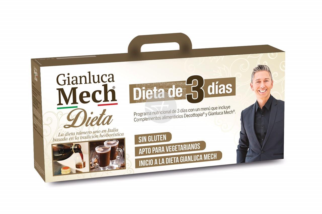 DIETA GIANLUCA MECH DE 3 DIAS BALESTRA & MECH