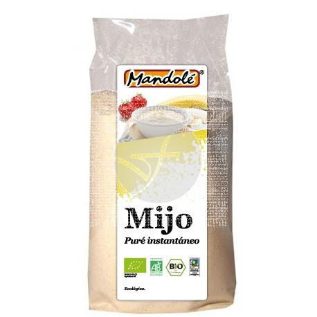PURE INSTANTANEO DE MIJO EN POLVO BIO 225GR MANDOLE