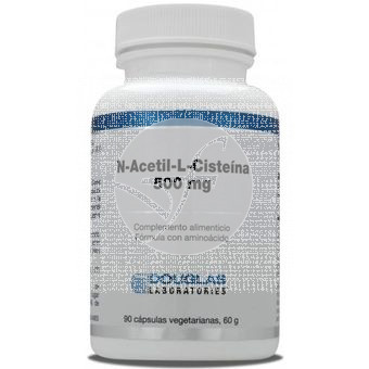 N-ACETIL-L-CISTEINA 500MG DOUGLAS