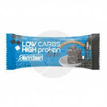 BARRITAS LOW CARBS HIGH PROTEIN BROWNIE NUTRI SPORT