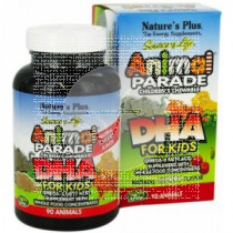 ANIMAL PARADE DHA 90 COMPRIMIDOS MASTICABLES NATURE'S PLUS