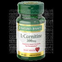 CARNITINA 500MG NATURE´S BOUNTY