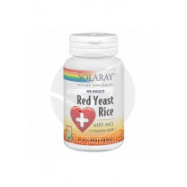 RED YEAST RICE LEVADURA ROJA DE ARROZ 600MG SOLARAY