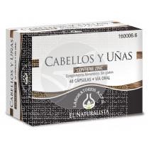CABELLOS Y UÑAS 48 CAPSULAS EL NATURALISTA