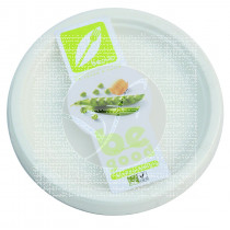 PLATOS FIBRA 100% COMPOSTABLE ECODIS