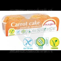 CARROT CAKE SIN GLUTEN VEGANO MUUGLU