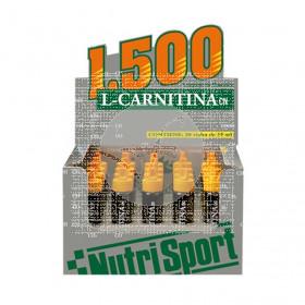 L-CARNITINA 1500MG VIALES NARANJA NUTRISPORT