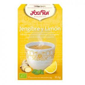 JENGIBRE Y LIMON INFUSION YOGI TEA