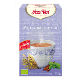 INFUSION ARMONIA INTERIOR BIO YOGI TEA