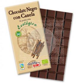 CHOCOLATE NEGRO BIO 56 CON CANELA CHOCOLATES SOLE