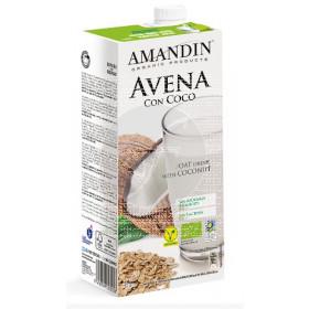LECHE DE AVENA CON COCO ECO AMANDIN