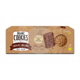 COOKIES DE CHOCOLATE Y AVELLANAS SIN GLUTEN BIO ZEALIA