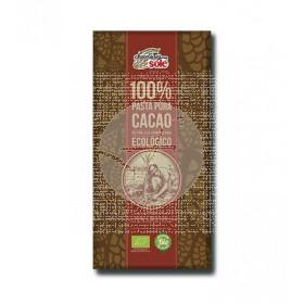 CHOCOLATE NEGRO 100% CACAO ECOLOGICO CHOCOLATES SOLE
