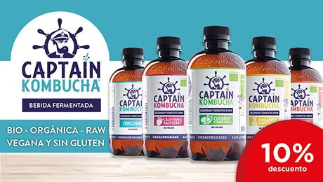 Marzo - Bebidas Captain Kombucha
