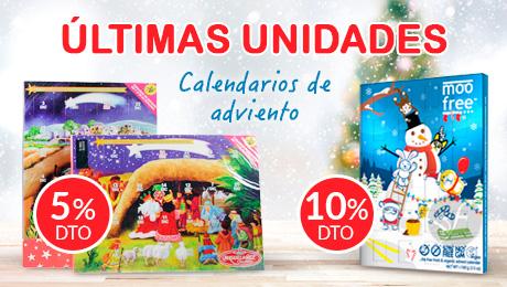 Navidad- Calendarios de adviento en oferta