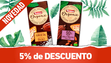 Marzo - Chocolates organicos Torras