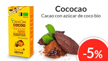Marzo - Cacao con azúcar de coco Alternativa3