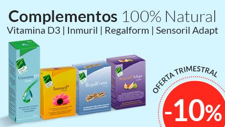 Oferta trimestral - Complementos 100% Natural
