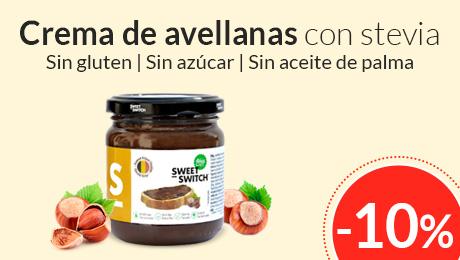 Enero - Crema de avellanas con stevia