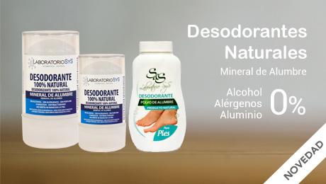 Marzo - Desodorantes naturales Laboratorio Sys