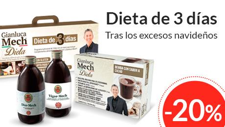 Enero - Dieta 3 días Gianluca Mech