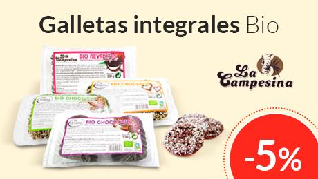 Marzo - Galletas integrales Bio La Campesina