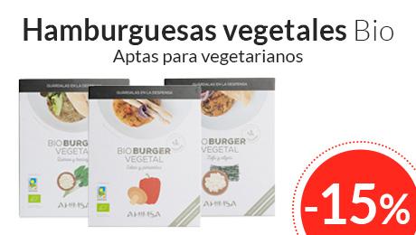 Enero -Hamburguesas vegetales Bio Ahimsa