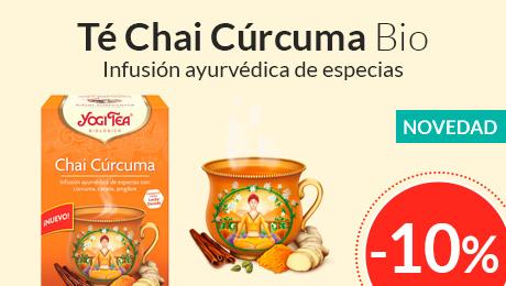 Enero - Té Chai cúrcuma Yogi Tea