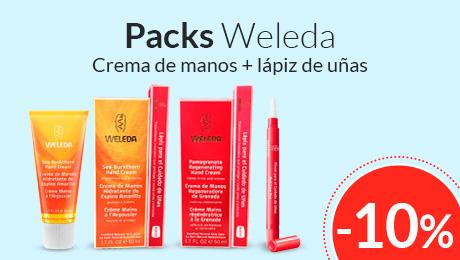 Marzo - Cremas de mano + lápiz de uñas Weleda