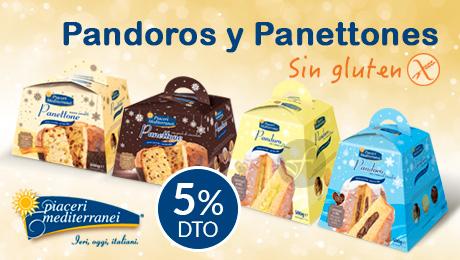 Navidad- Pandoro y Panettones en oferta