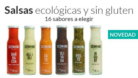 Enero - Salsas ecológicas y sin gluten Sesmans Organic