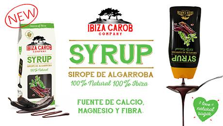 Marzo - Sirope de algarroba Frutos secos Ibiza