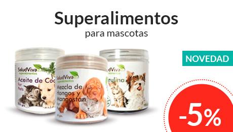 Marzo - Superalimentos para mascotas Salud Viva