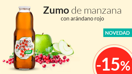Marzo - Zumo de manzana con arándano Santiveri