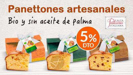 Navidad- Panettones bio sin aceite de palma