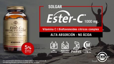 Enero - Vitamina ester C Solgar