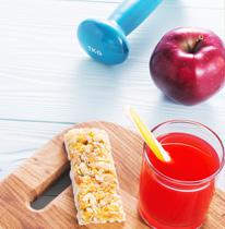 Barritas y nutrición deportiva