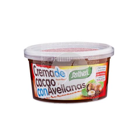 Crema De Cacao con Avellana sin Azucar Santiveri