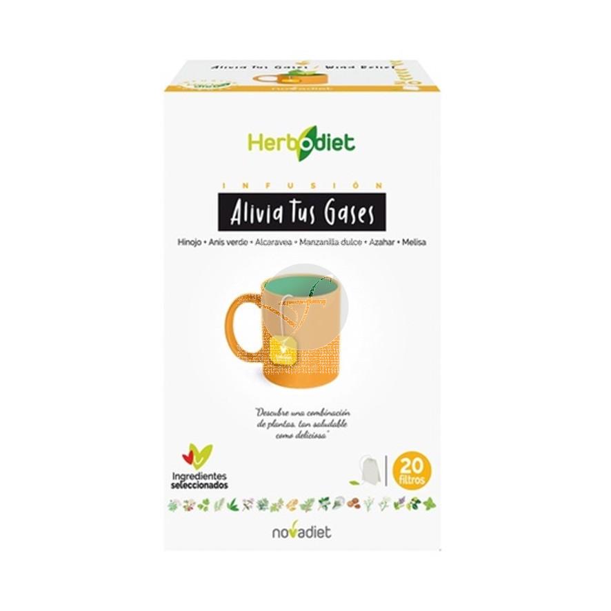 Herbodiet Alivia Tus Gases 20 Infusiones Nova Diet