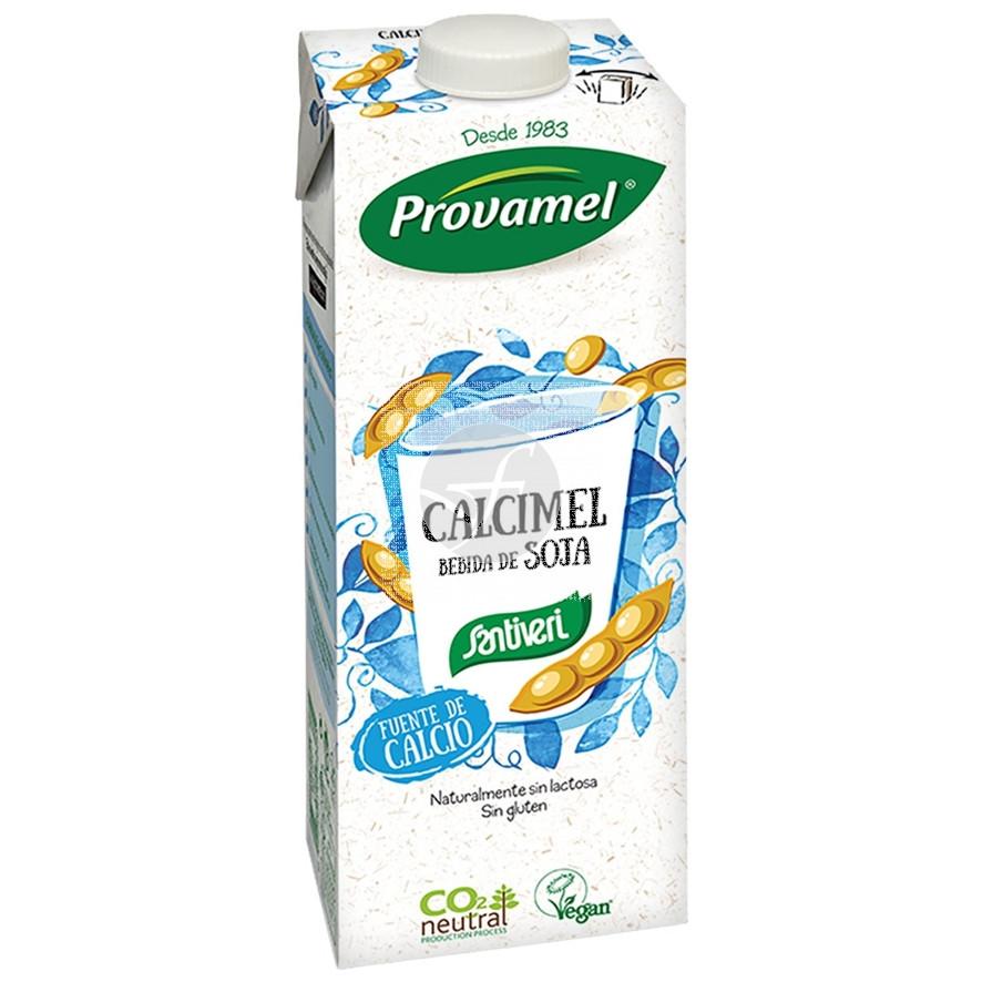 Bebida Vegetal De Soja Calcimel 1L Santiveri