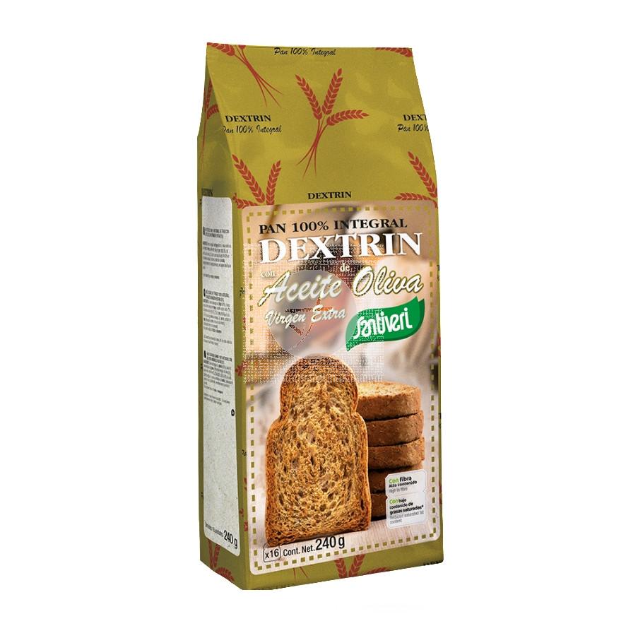 Pan Dextrin con Aceite De Oliva y Omega 3 Santiveri