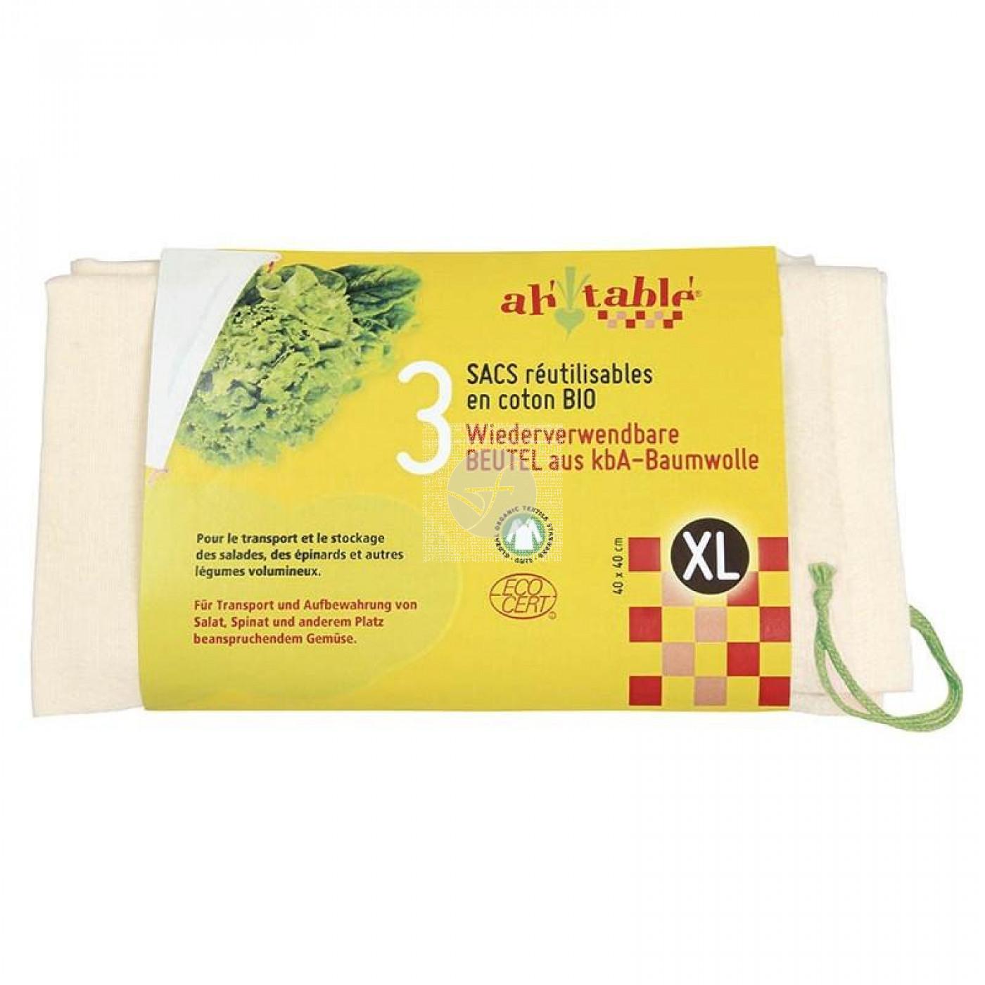 Bolsa de Fruta y Verdura XL 3ud AH TABLE