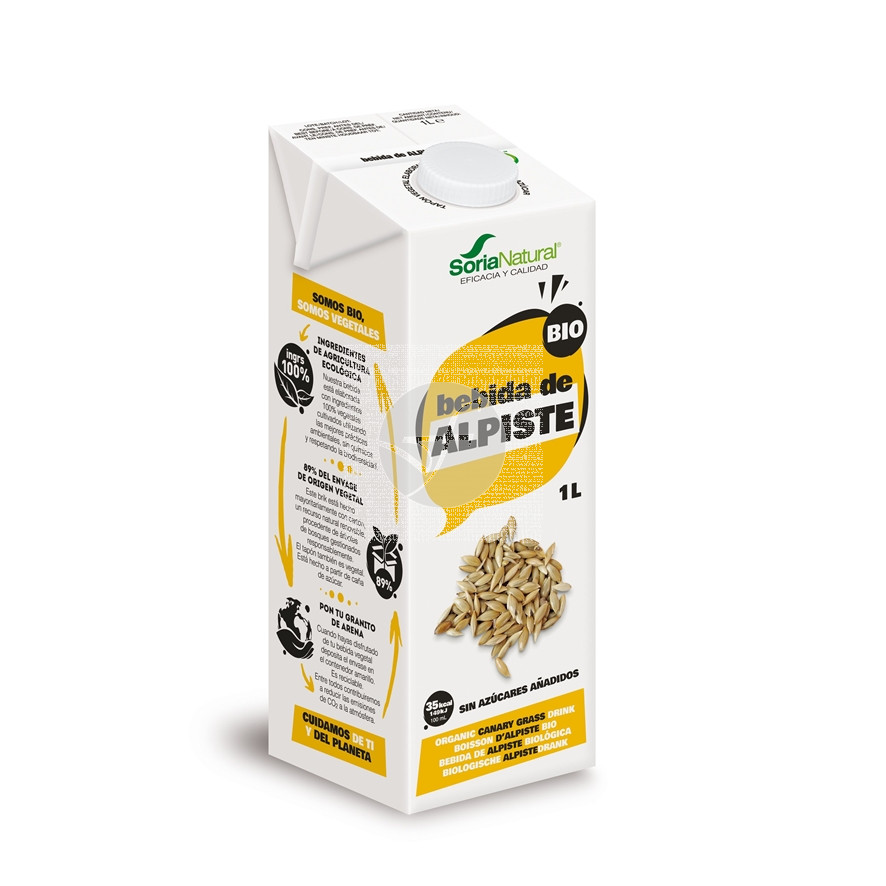 Bebida Vegetal De Alpiste 1L Soria Natural