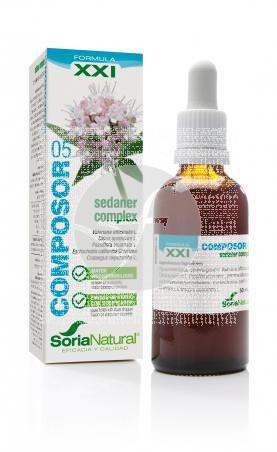 Composor 5 Valerian Complex SXXI 50ml Soria Natural