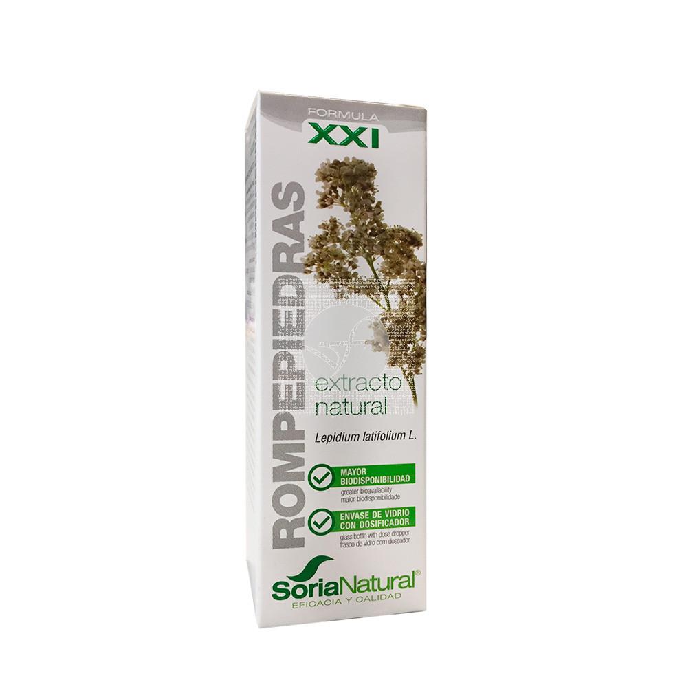 Rompepiedras Extracto Natural Formula XXI Soria Natural