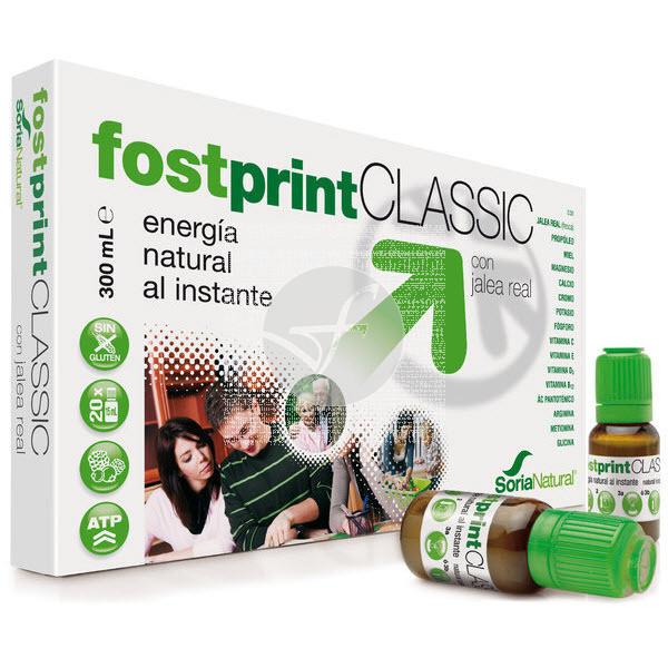 Fost Print Classic sabor Frutas Del Bosque 20 viales Soria Natural