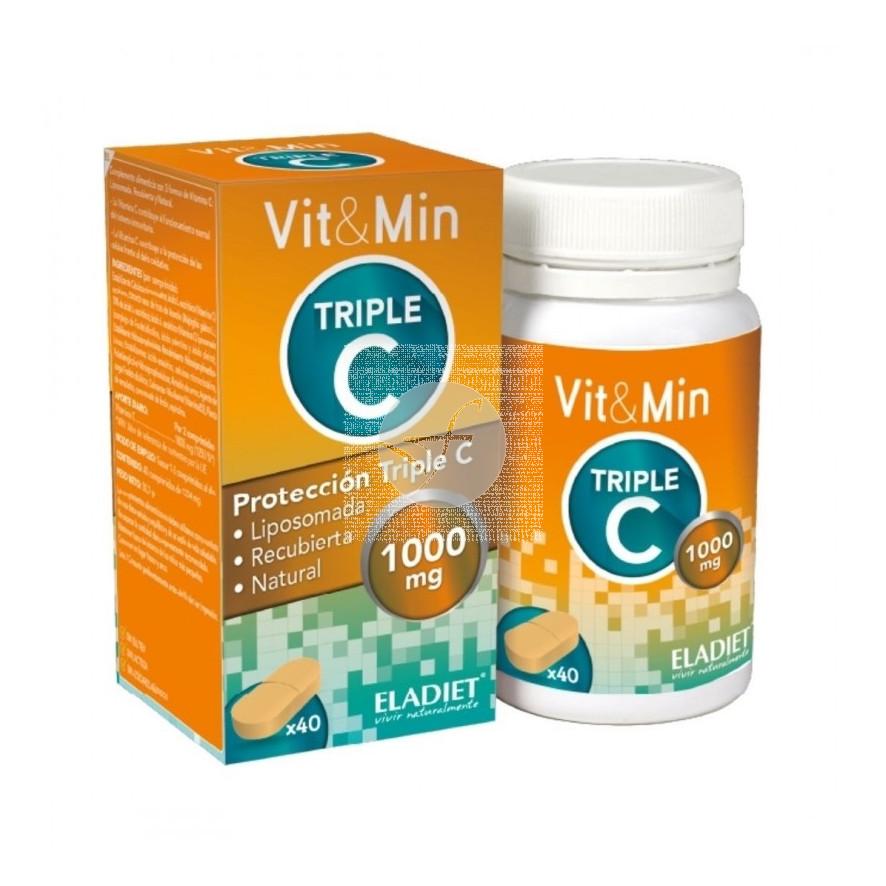 Triple C Vit&Min 40 comprimidos Eladiet