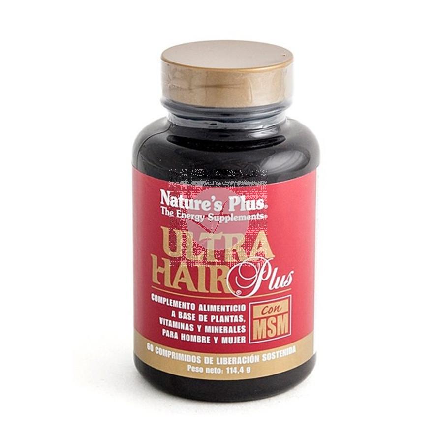 Ultra Hair Plus con MSM Nature'S Plus