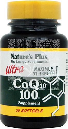 Ultra Coenzima Q10 30 perlas Nature'S Plus