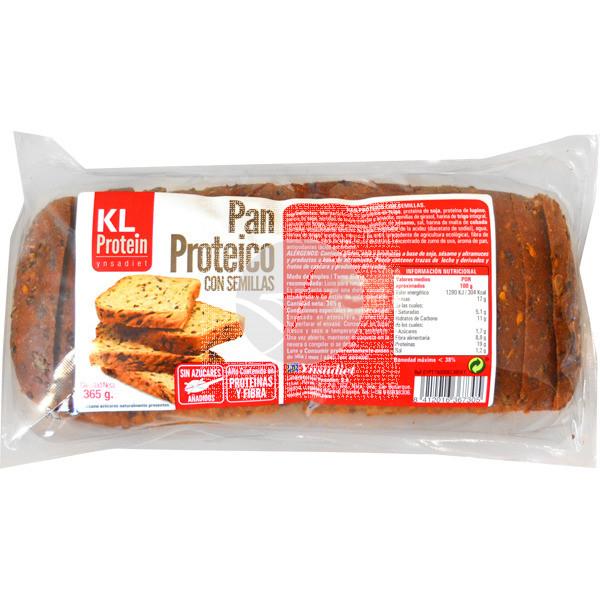 Pan Proteico con Semillas Kl Protein 365Gr Ynsadiet